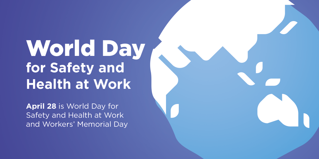 Wiley Honours 2019 World Day For Safety And Health At Work And